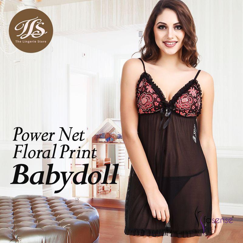 7100e2fb07 Nightwear Online · Sleepwear Women · Shop Now · Power Net Floral Print  Babydoll from Fasense. Shop Now at https   tlslingerie