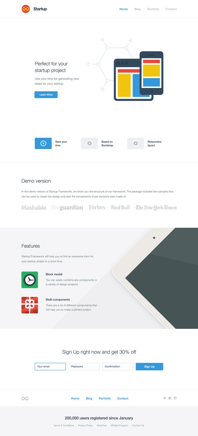 Startup Free Bootstrap Builder For Templates Themes Startup Design Start Up Start Up Business
