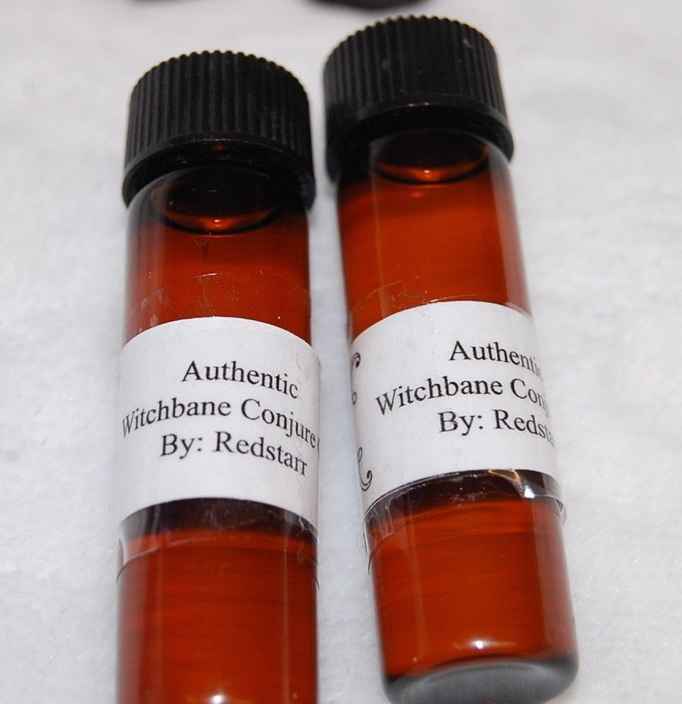 Witchbane Oil (1) To Remove Curses and Hexes - Voodoo