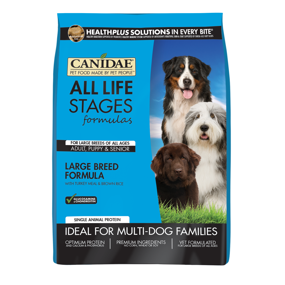 Canidae All Life Stages Large Breed Turkey Meal & Brown