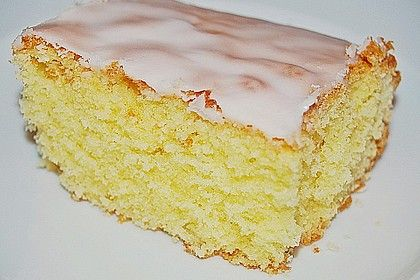 Photo of Fast lemon cake on the tray by moorhenne | Chef
