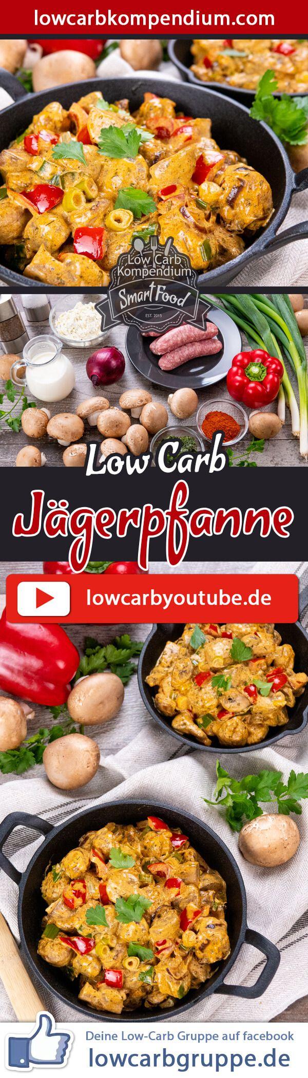 Jägerpfanne � Low-Carb & so lecker würzig-cremig �