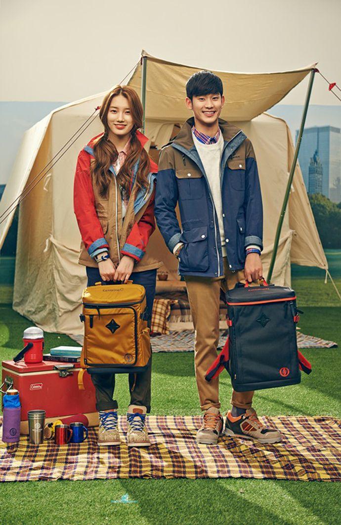 Kim Soo Hyun Suzy S Adventurous Date Indoors For Beanpole Outdoor S Spring 2014 Lookbook Kim Soo Hyun Suzy Camp Fashion