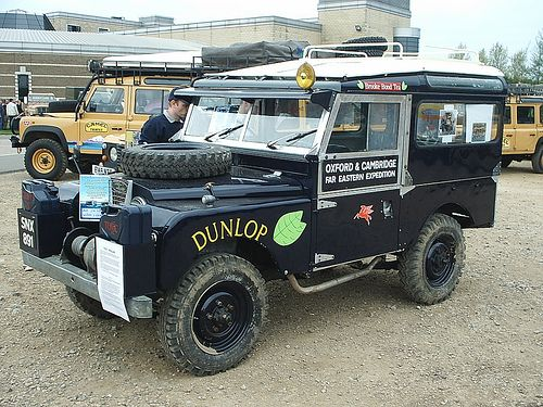 First Overland Replica With Images Land Rover Land Rover Defender Land Rover Series
