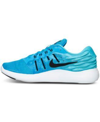 designer fashion be87e b82d9 Nike Women s LunarStelos Running Sneakers from Finish Line - Blue 6.5
