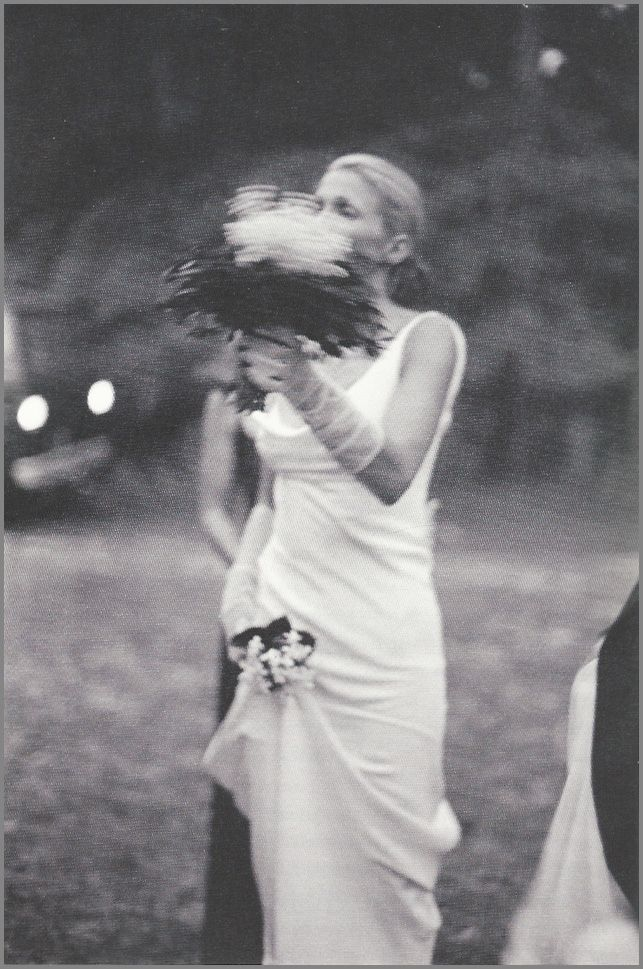 Carolyn Bessette and her lily of the valley wedding bouquet | Bliss ...