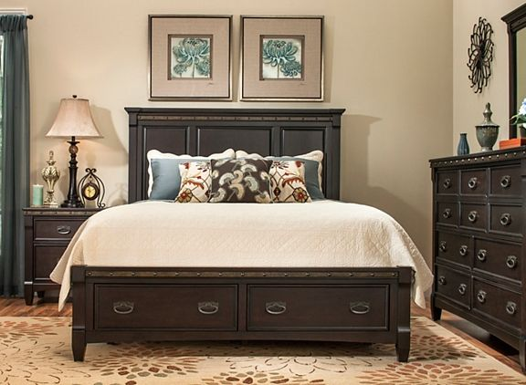 Altair 4-pc. Queen Platform Bedroom Set | Bedroom Sets | Raymour ...