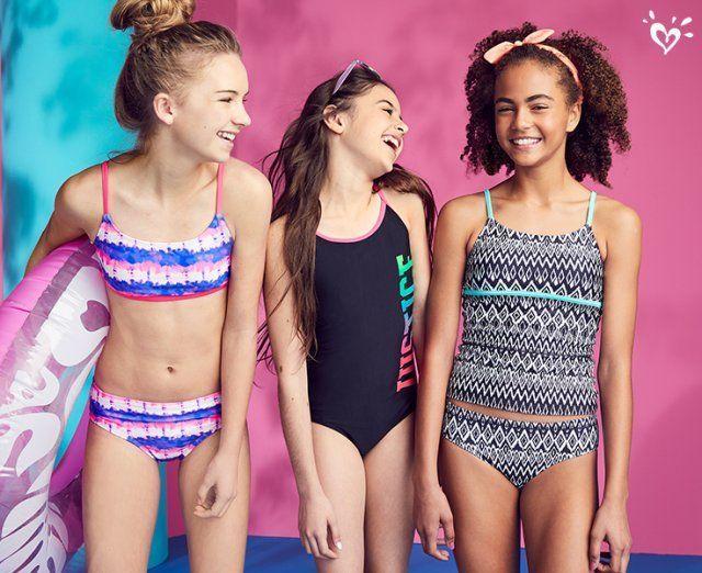 f7198523fc New swim styles to get her beach & pool ready. #TweenFashionTrends ...