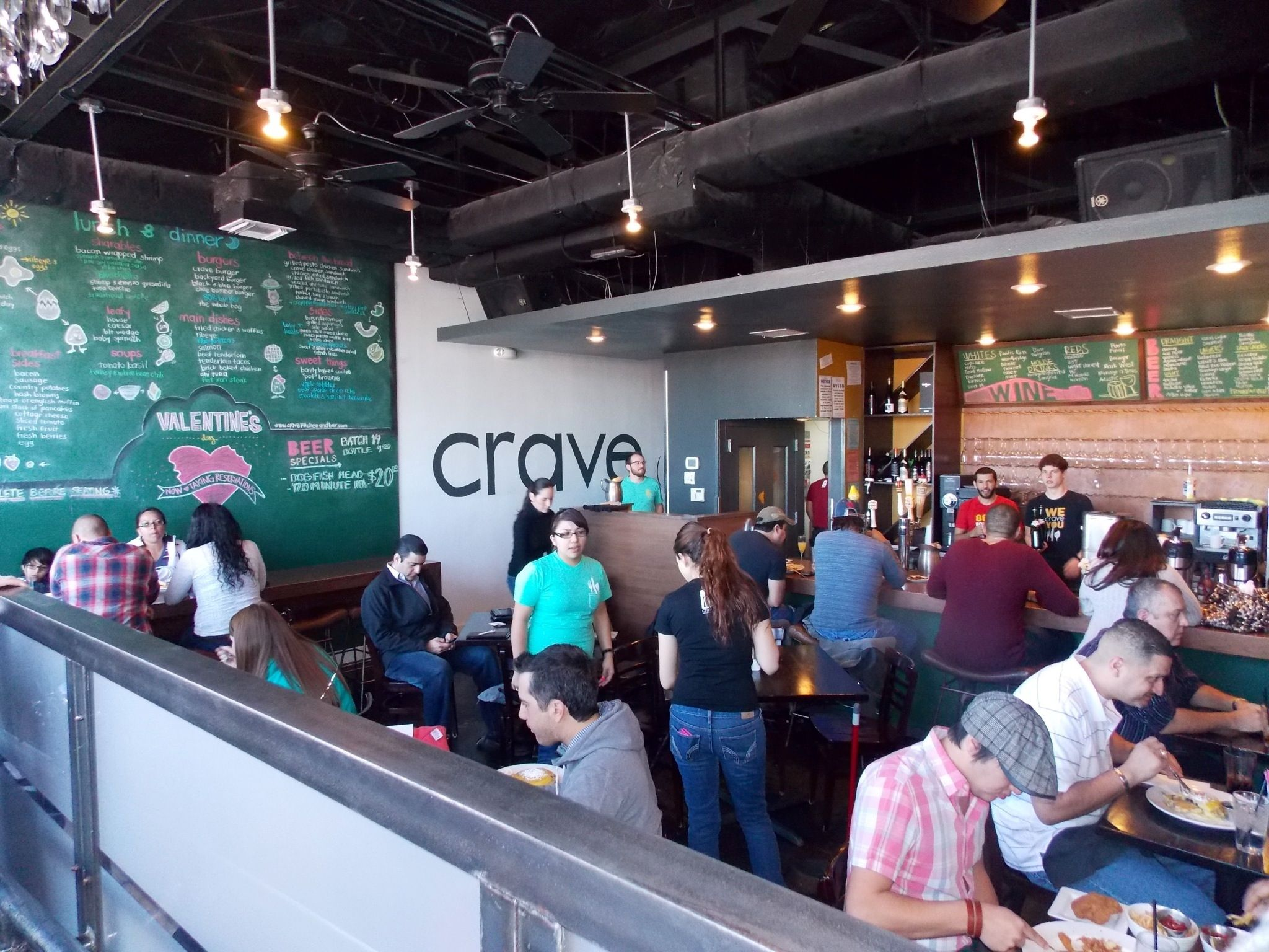 crave. el paso, tx. best chicken and waffles i've ever had. | best
