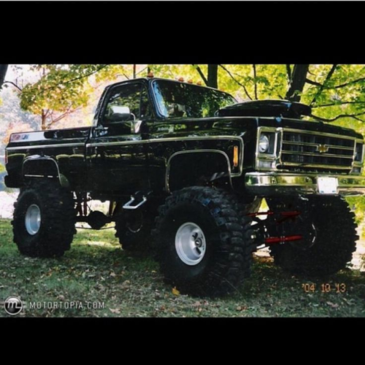 old badass chevy trucks - Google Search | my room | Pinterest