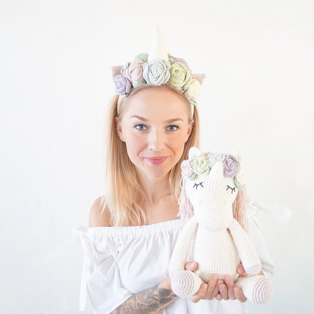 This is so amazing. Crochet Unicorn | Crochet | Pinterest ...