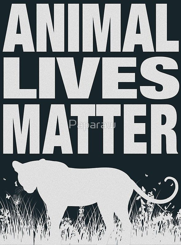 Animal Lives Matter Poster By Paparaw Lives Matter Parking Spot Painting Animals Matter
