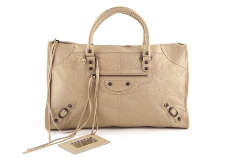 Balenciaga Work Bag in Latté lovethatbag imagens)