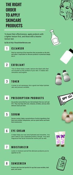 What Is The Right Order To Apply Skincare Products Skin Care Routine Order Skin Care Order Winter Skin Care