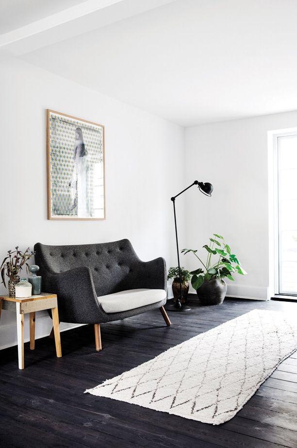 Copenhagen Home With An Industrial Black Kitchen (Gravity Home