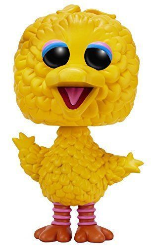 Funko Pop Sesame Street Big Bird Flocked Exclusive Oversize Vinyl Figure