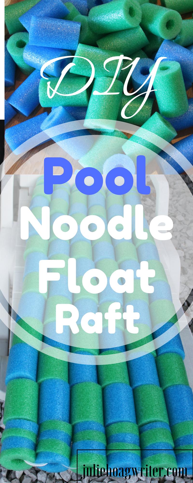Diy Pool Noodle Float Raft Noodle Float Pool Noodle Crafts Diy Pool Toys