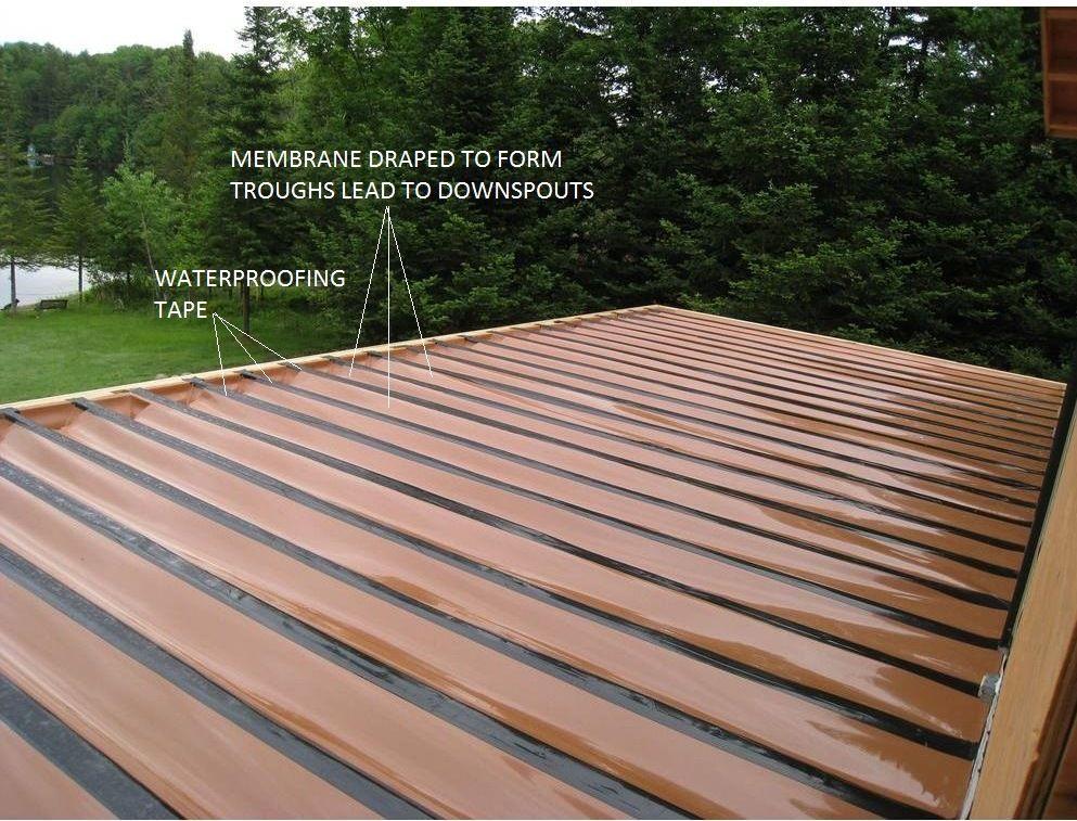 Deck Waterproofing System Building A Deck Diy Deck Deck Design