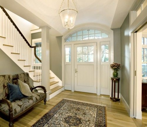 love the the entry way