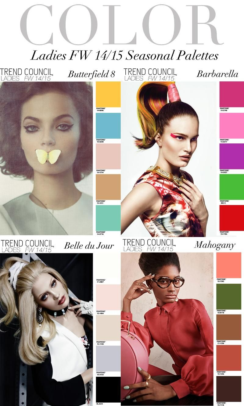 Visit Trend Council Online Forecast Trend Council Fall Fashion