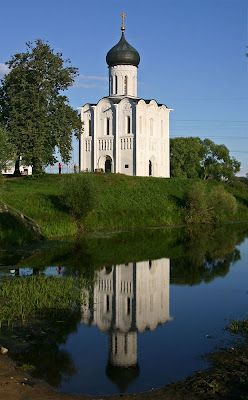 The Church of the Intercession on the Nerl in Bogolyubovo