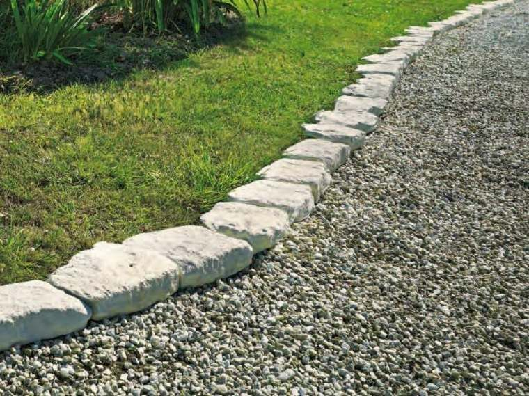 Bordures De Jardin 20 Idees Originales Outdoor Gardens Backyard Garden Diy Garden Stones