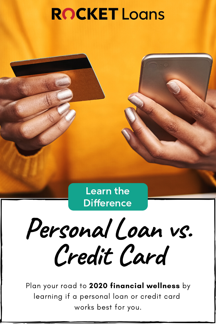 Learn The Difference Personal Loan Vs Credit Card In 2020 Personal Loans Credit Card Paying Off Credit Cards