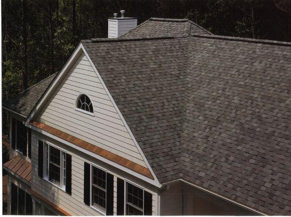 Landmark Colonial Slate Max Def Exterior House Styles