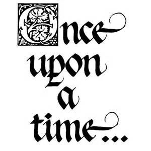 Once Upon A Time Calligraphy once upon a time print...