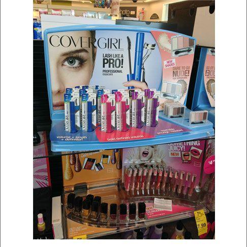 Covergirl Lash Like A Pro Shelf Display
