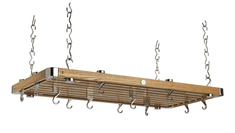 hahn premium rechteckiges deckenregal gro eichegr e und oder gewicht 4 x 52 x 100 cm aus. Black Bedroom Furniture Sets. Home Design Ideas