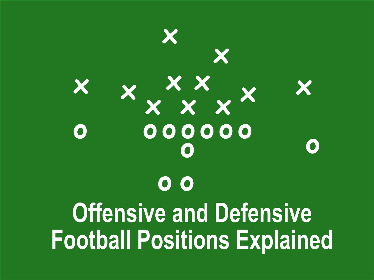 Offensive And Defensive Football Positions Explained Football Positions Understanding Football Football