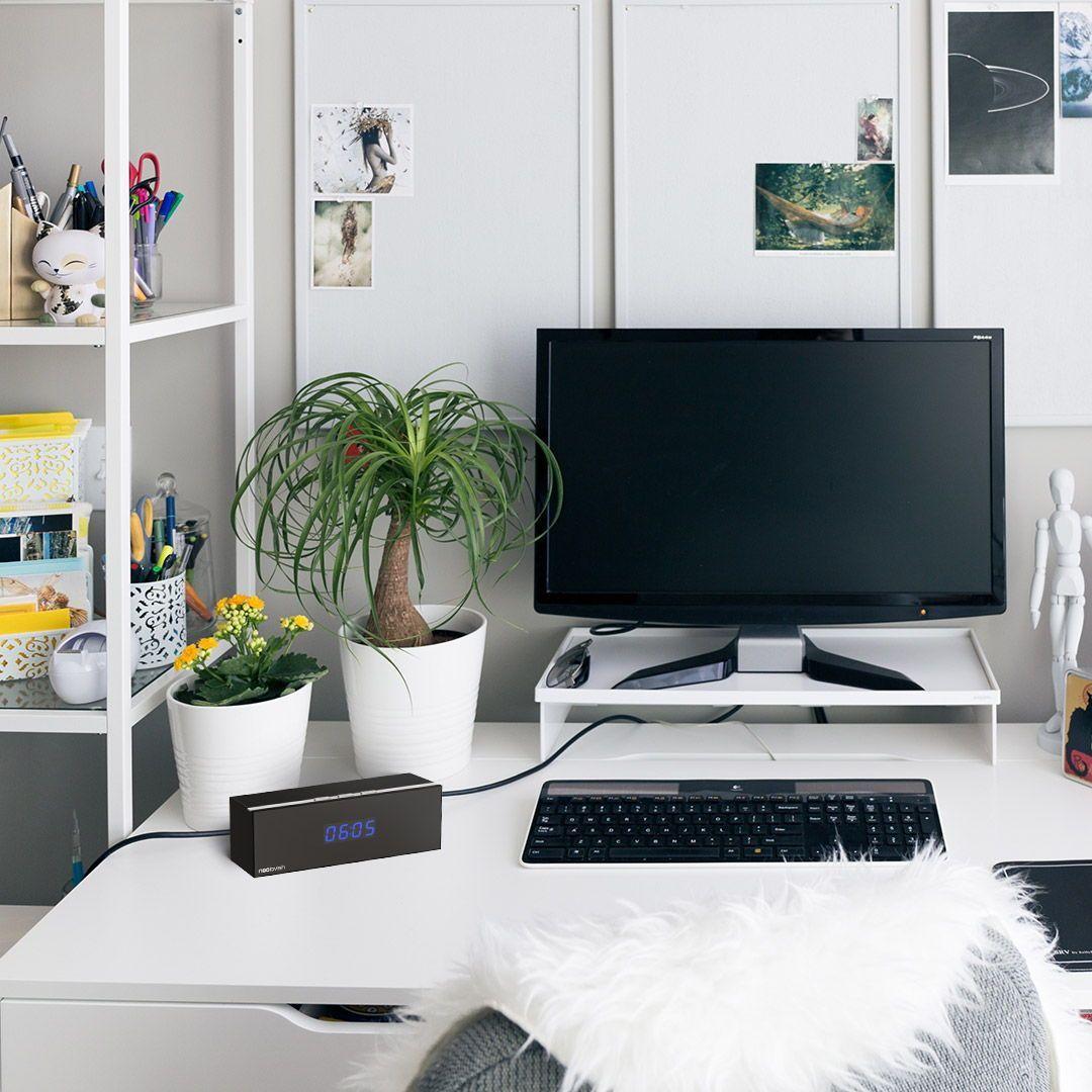 Desk Inspiration With Our Camera Clock Wohnkultur Decoration