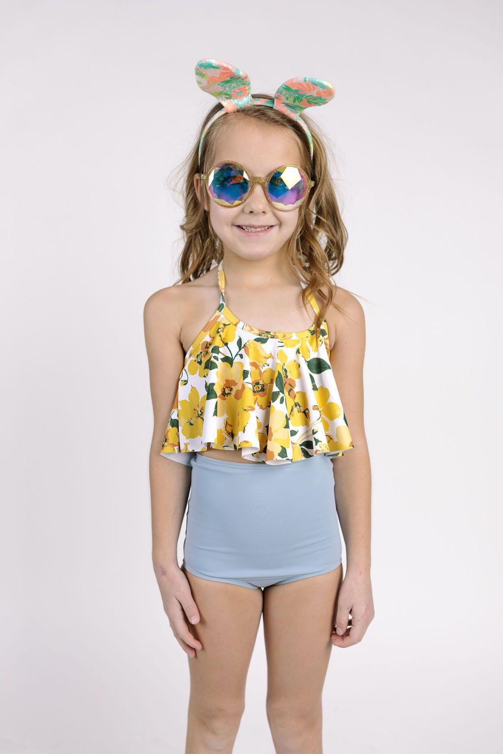 60ef486ef19ad Kortni jeane // kortni jeane swimmers // swimwear // high waisted swimsuits  // swimsuits // little girl swimsuits // mini girls swimsuits // mix n  match ...