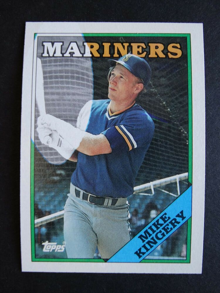 1988 Topps 532 Mike Kingery Seattle Mariners Error Baseball Card Ebay In 2020 Baseball Cards Baseball Mariners
