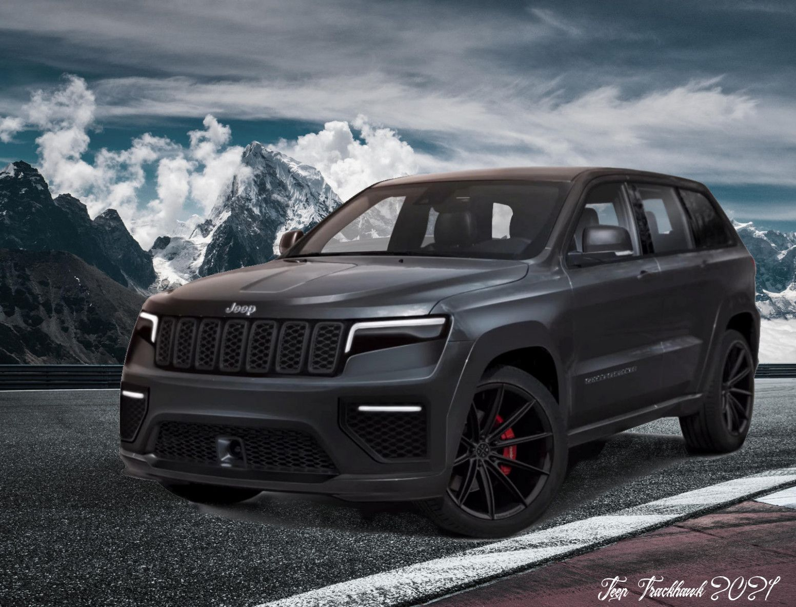 Jeep Trackhawk 2021 Release Date And Concept Jeep Grand Cherokee Jeep Grand Jeep Suv