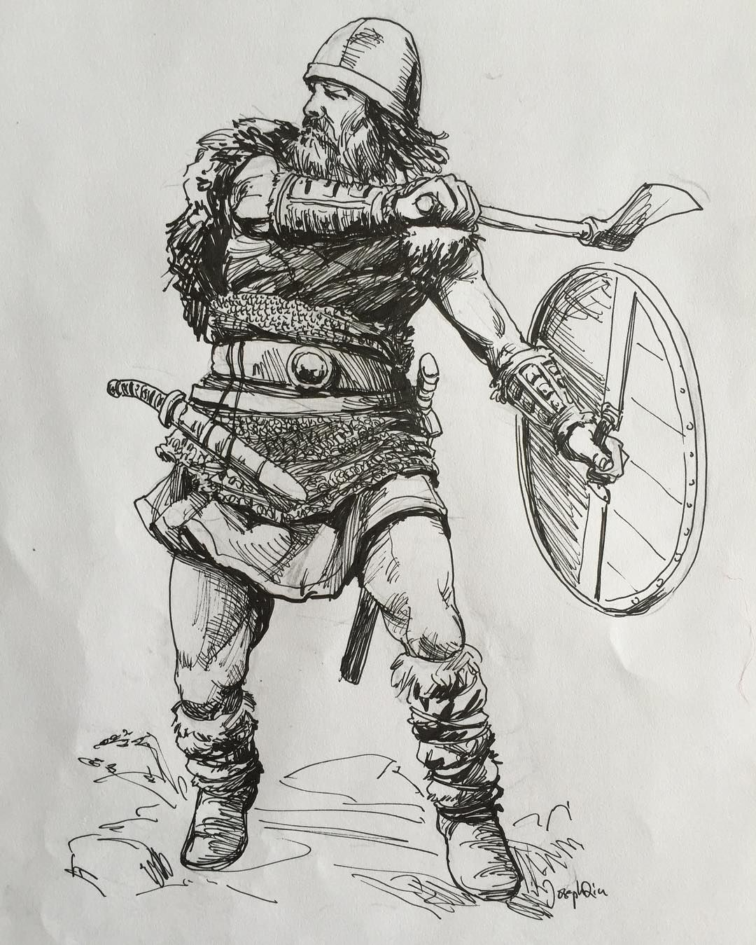 Картинки викинги рисунки