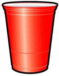 Red Solo Cup   clip art   Red cup party, Red solo cup ...