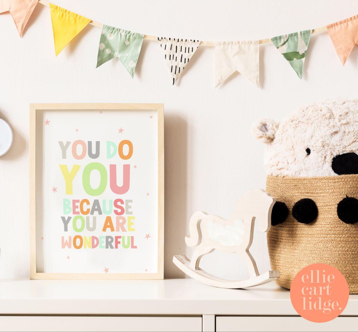 #quotes #quoteprints #positivequote #beyourselfquotes #prints #printsforsale #kidsprints #pastelart #girlsroomdecor #girlsnursery #nurseryart #nurseryprints #nurserydecor #toddlerroom #childrensroomdecor #childrensprints #type #colourfulart #girlsroomideas #beyou #youdoyou #encouragementquotes