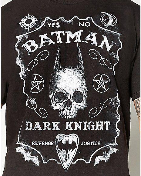 5467dd27931cc Batman Dark Knight Ouija Board Tee - Spencer s