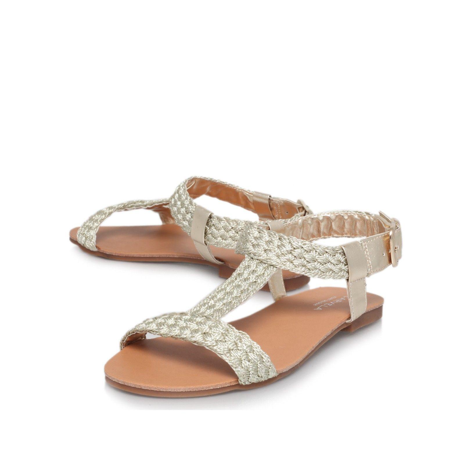 kay gold flat sandals from Carvela Kurt Geiger
