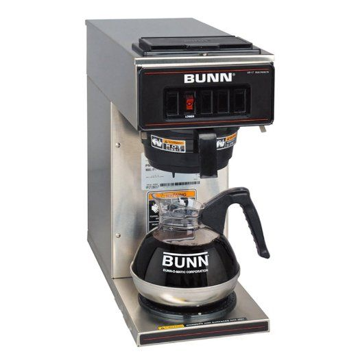 Commercial Grade Coffee Makers For Home Use Bunn Coffee Coffee Brewer Coffee Maker