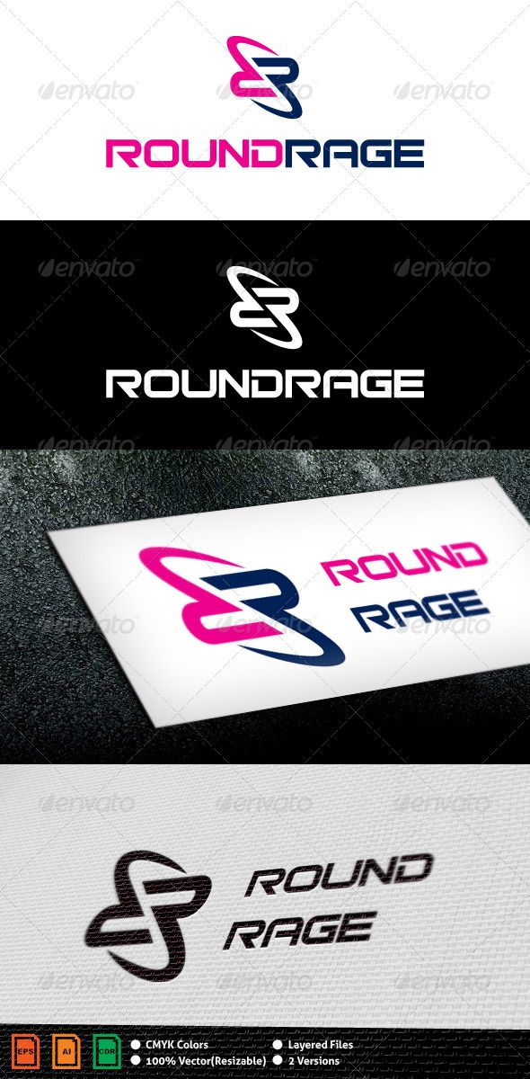 Abstract R Logo Template - GraphicRiver Item for Sale