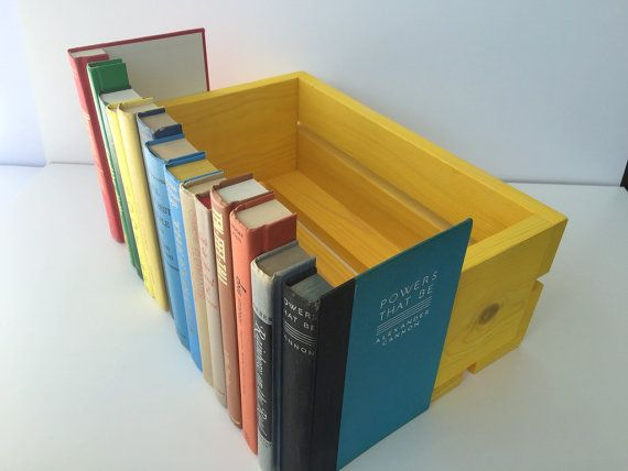 Faux Book Box Router Hider Book Boxes Rainbow Yellow Green Red by ColorMille & Vintage Decorative Secret Hidden Storage Covobox Faux Book Box ...