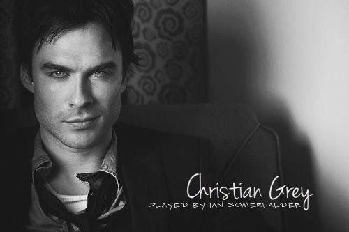 My Dream Cast for Fifty Shades of Grey:  Ian Somerhalder as Christian Grey. YES PLEASE