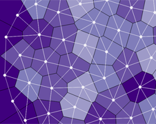 Voronoi diagram with force directed nodes and delaunay links voronoi diagram with force directed nodes and delaunay links gallery mbostockd3 wiki ccuart Image collections
