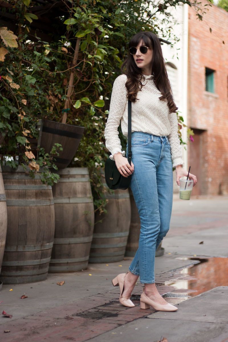 04b1b5b1a284 Everlane Denim and Day Heel Putting On The Ritz, Shakespeare Characters,  Jeans Brands,