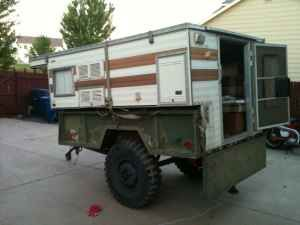 Popular Old M416style Military Trailer  DIY Campers And Off Road Trailers