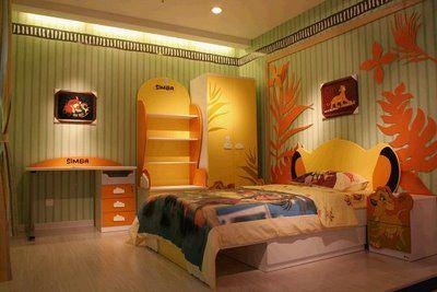 Lion King Bedroom!