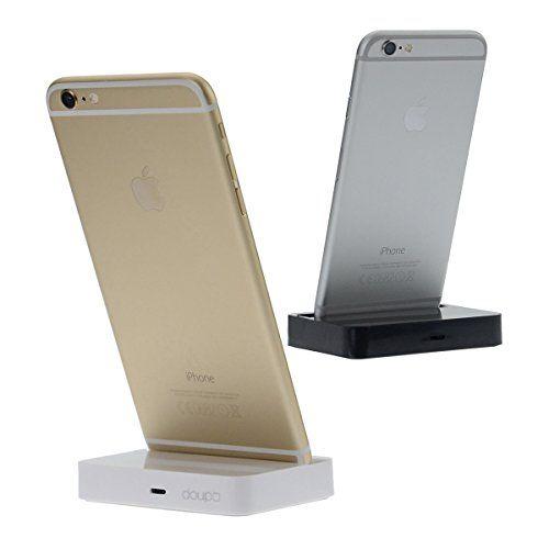 XR iPhone X iPhone 5 5S 5C SE Lightning Spina Caricabatterie La Trasmissione dei Dati Titolare iPhone 6 6S // Plus doupi Dock Docking Station iPhone 8//8 Plus XS iPhone 7//7 Plus XS Max Argento